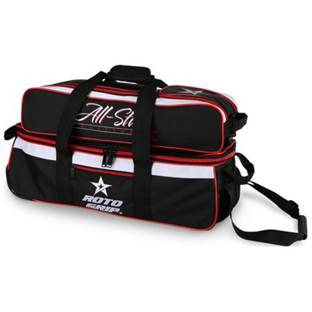 (Roto Grip 3 Ball Carryall Roller Bowling Bag- All Star Edition)