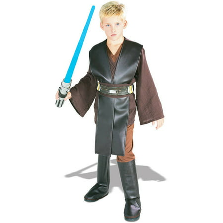 Star Wars - Boys' Deluxe Anakin Skywalker Costume - Anakin Skywalker Costume Adults