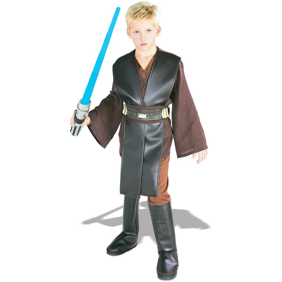 Star Wars Boys Deluxe Anakin Skywalker Costume Walmart Com