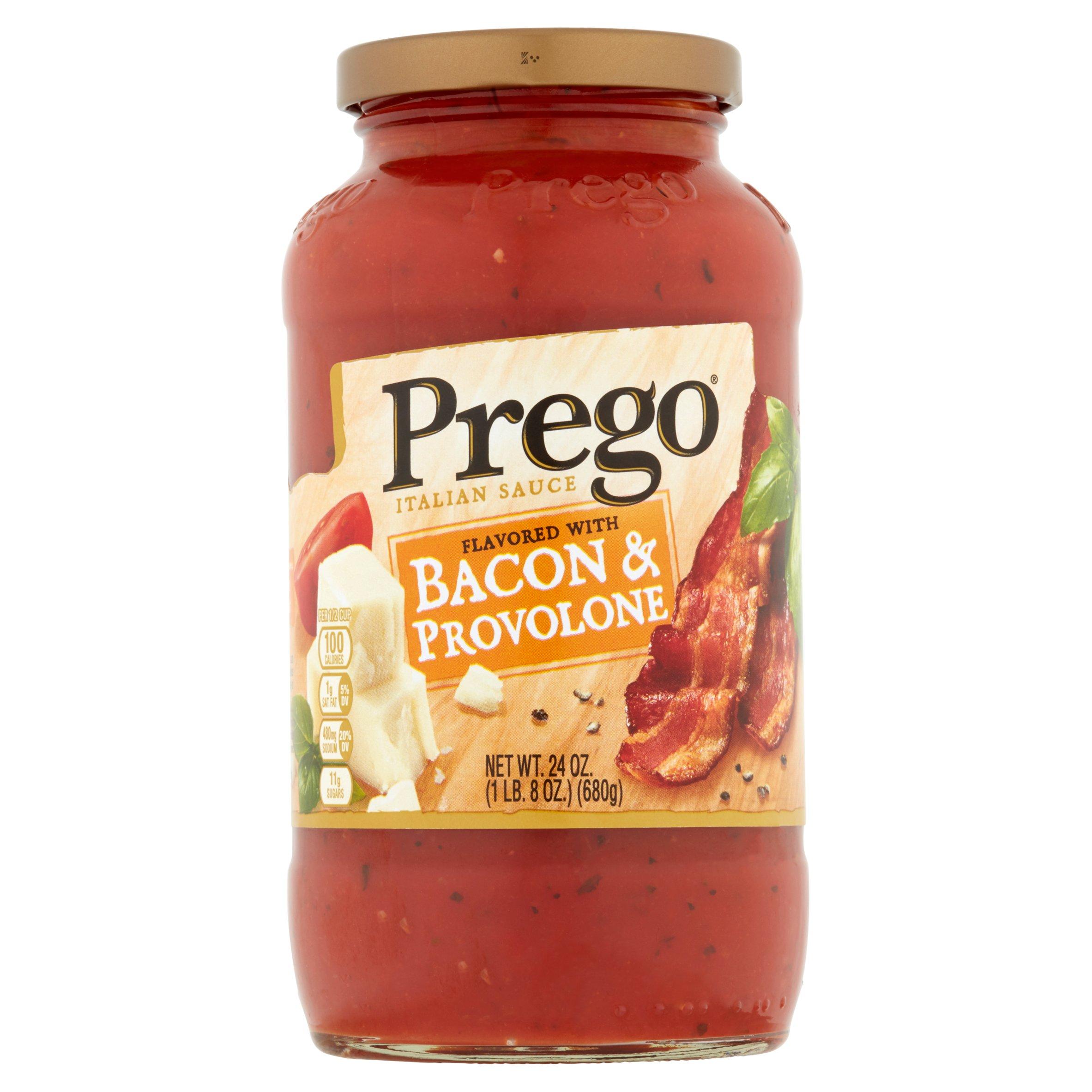 Prego Bacon & Provolone Italian Sauce, 24 oz by Campbell Soup Company