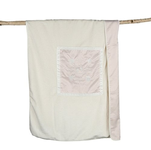 Barefoot Dreams Signature Plush Receiving Blanket, Color: Pink by Barefoot Dreams