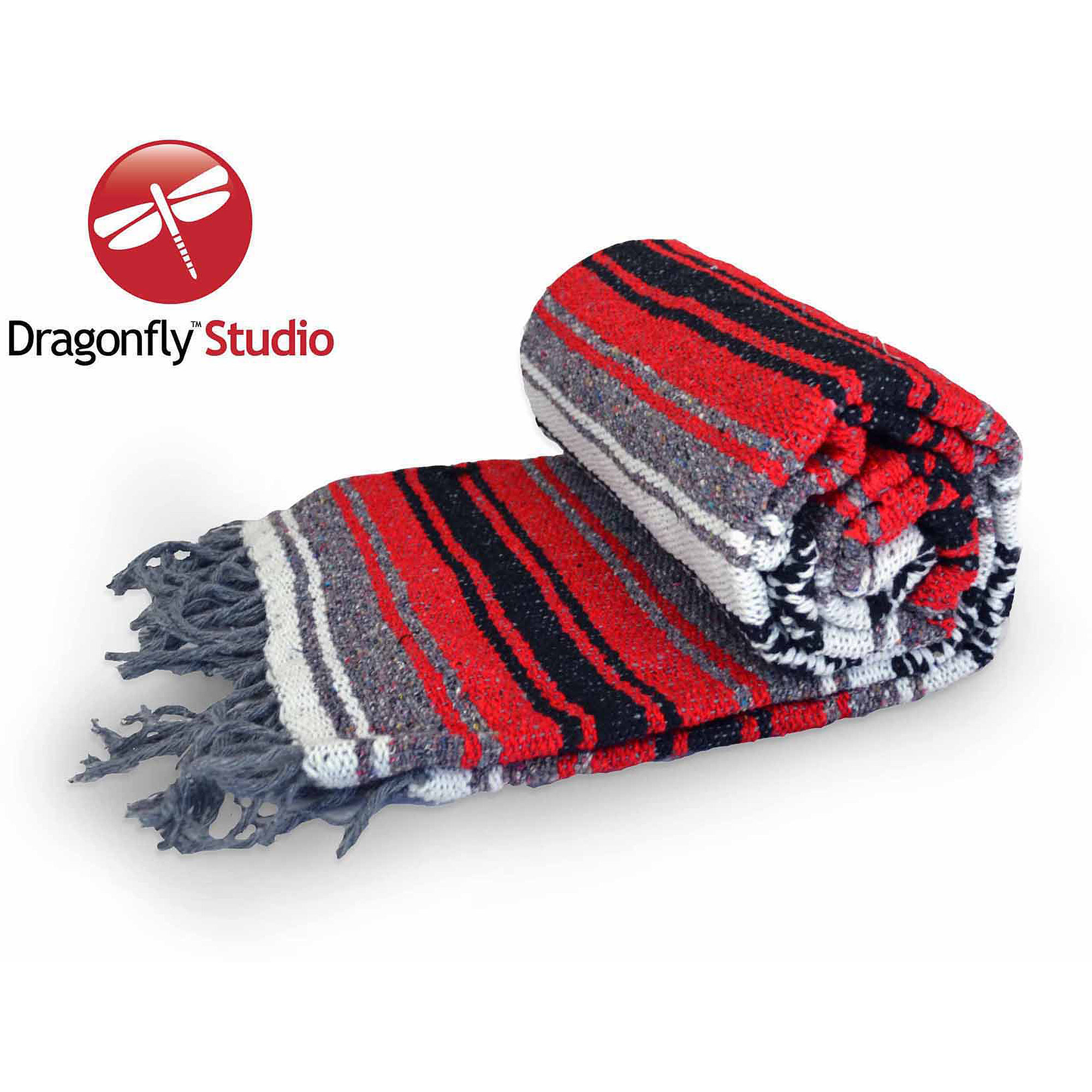 Dragonfly Studio Mexican Cotton Blanket