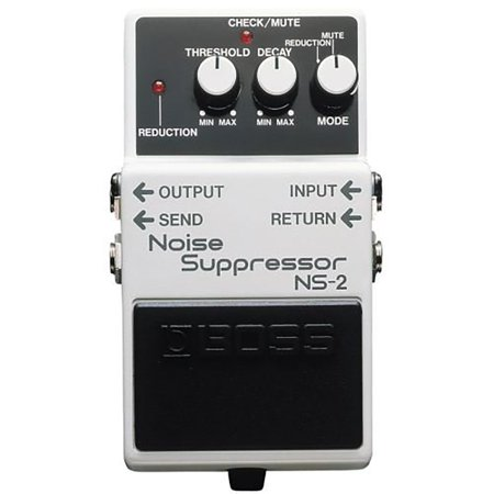 Boss NS-2 Electric Guitar Single Effect Noise Suppressor Guitar Pedal, (Boss Ev 5 Expression Pedal)