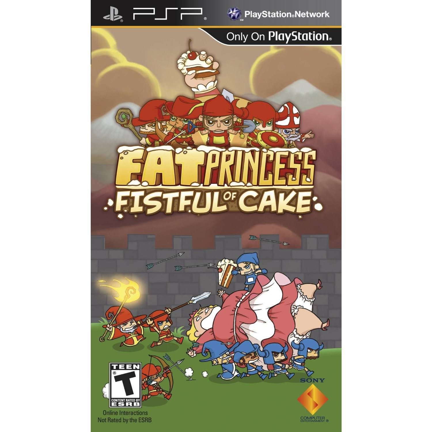 Fat Princess: Fistful of Fun (PSP)