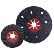 CGW Abrasives 421-35842 7 Inch C-16 Silicon Carbidesemi-Flex Sanding Disc