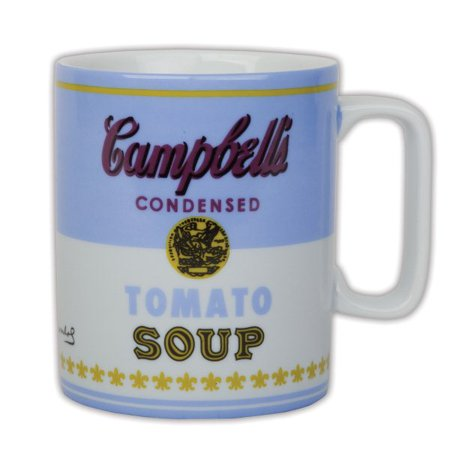 Andy Warhol Campbell's Soup Boxed Mug 2 (Andy Warhol Best Work)