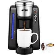 Best K Cup Machines - AICOK Single Serve Programmable Coffee Maker, 5 Brew Review