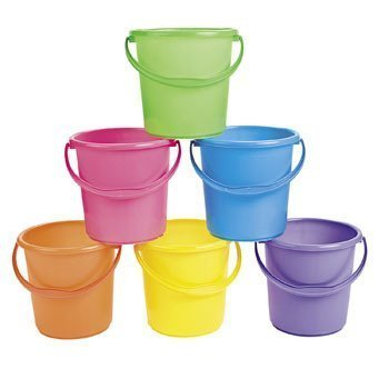 Sand Bucket Assortment - Easter Baskets](Easter Bucket)