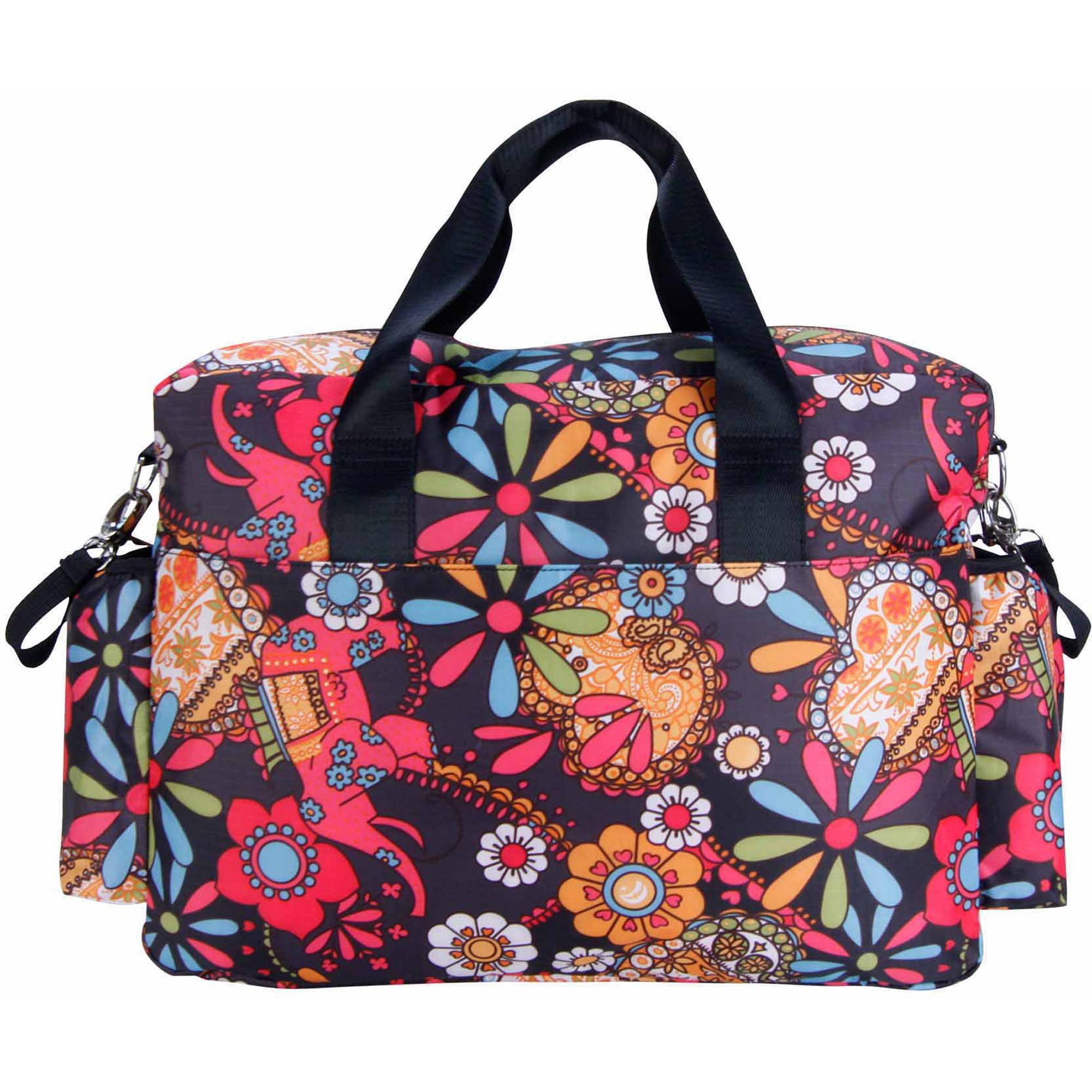 Pañalera Tendencia Lab Deluxe Duffle bolsa de pañales + Trend Lab en Veo y Compro