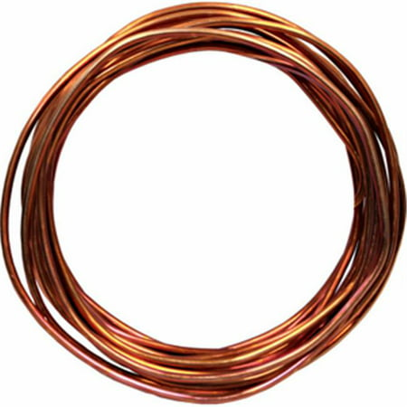 Marmon Home Improvement 212358 15 ft. 6 Bare Solid Copper Grounding Wire Coil