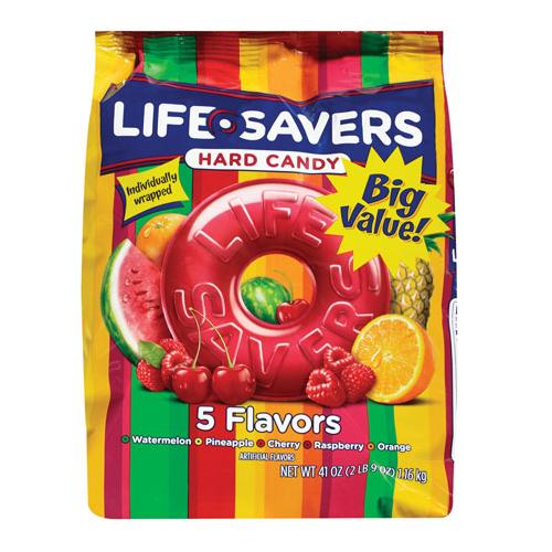 LifeSavers Hard Candy 5 Flavor Bag: 2.5 LBS