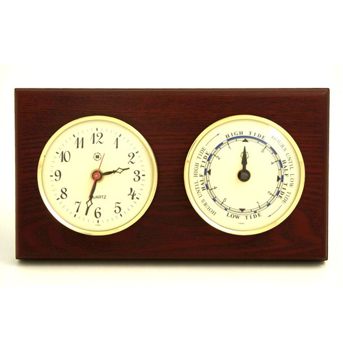 Bey-Berk Time Tide Wall Clock