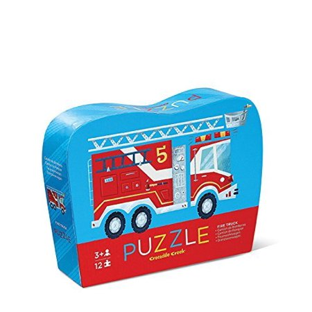 Crocodile Creek Fire Truck Jigsaw Puzzle (12 Piece)
