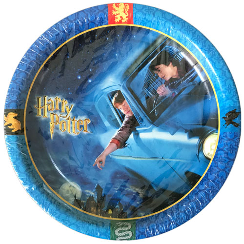 Harry Potter 'Chamber of Secrets' Large Paper Plates (8ct)