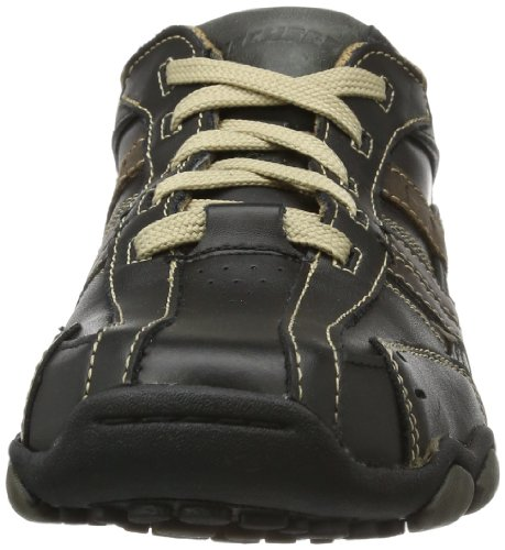 Skechers USA Mens Diameter Vassell Oxford Blacktan 8.5 M US