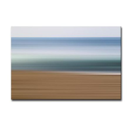 Ready2HangArt 'Blur Stripes XXXVII' Canvas Wall Art 20 in. High x 30 in. Wide