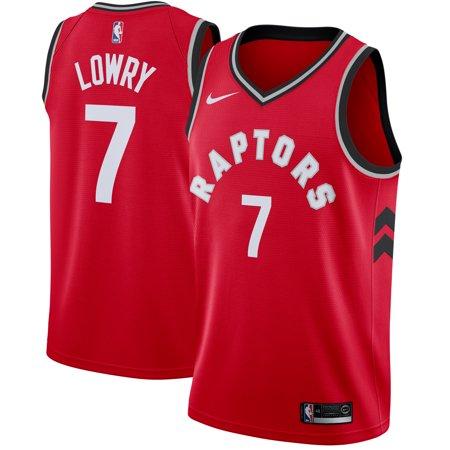- Kyle Lowry Toronto Raptors Nike Swingman Jersey Red - Icon Edition