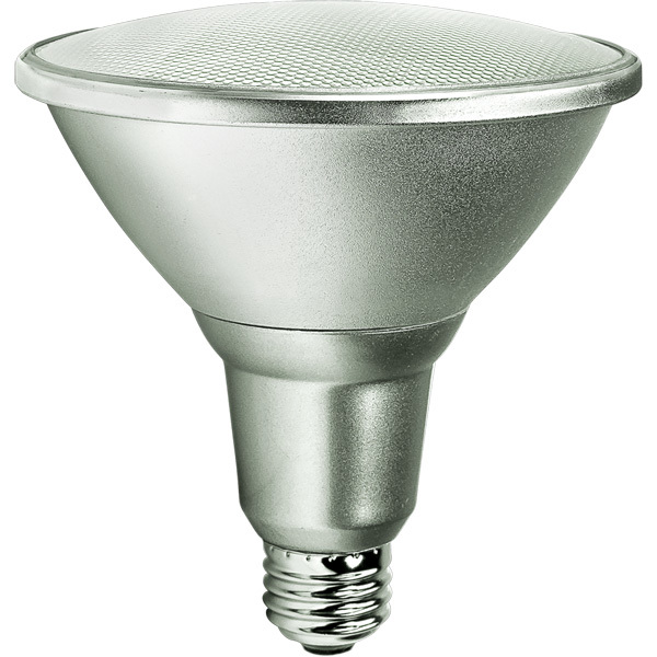 PAR38 LED 15W 90W Equal, Dimmable 25 Deg. Narrow Flood, 3000K, Satco S9441 by Satco