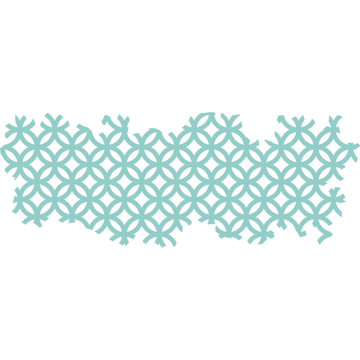 "Kaisercraft Decorative Die-Texture Stained Glass 5.25""X2"""