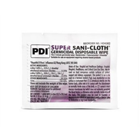 Super Sani-Cloth Germicidal Disposable Wipes-Box of 50