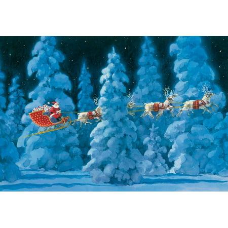 Perpetual Desk Calendar - 'Twas the Night Before Christmas Advent Calendar