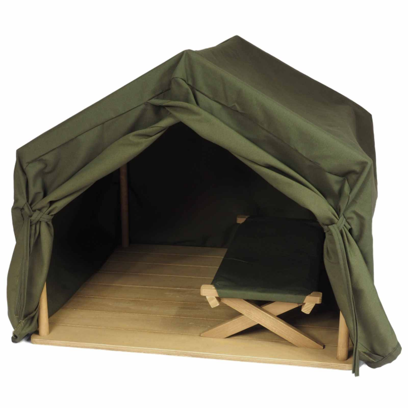 18 Inch Doll Furniture Dr. Goodall Inspired Gombe Research Camping Tent And Cot by The Queen's Treasures