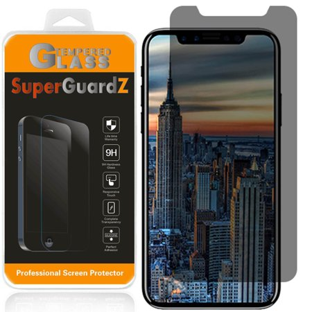 [2-Pack] Apple iPhone X / iPhone 10 Year Edition SuperGuardZ Tempered Glass Screen Protector [Privacy Anti-Spy], Keep Your Screen Secret, 9H Anti-Scratch, - Secret Screen