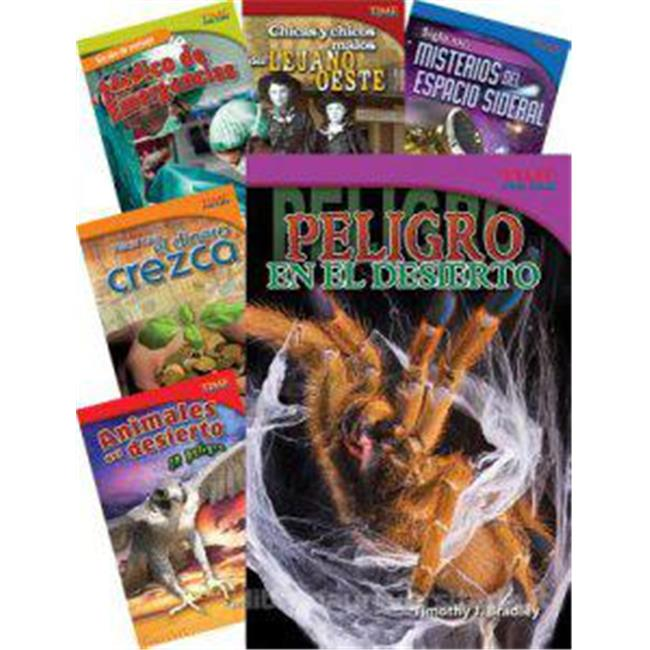 Time for Kids Informational Text Grade 5 Spanish Set 2 10-Book Set (Time for Kids Nonfiction Readers)