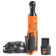 """VonHaus Cordless Electric Ratchet Wrench Set with 12V Lithium-Ion Battery and Charger Kit 1/4"""" Drive"""
