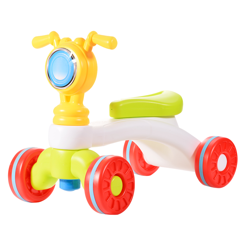 DSstyles Ride-on Baby Walker Children Ride-on Toy for Early Development - Motorcycle