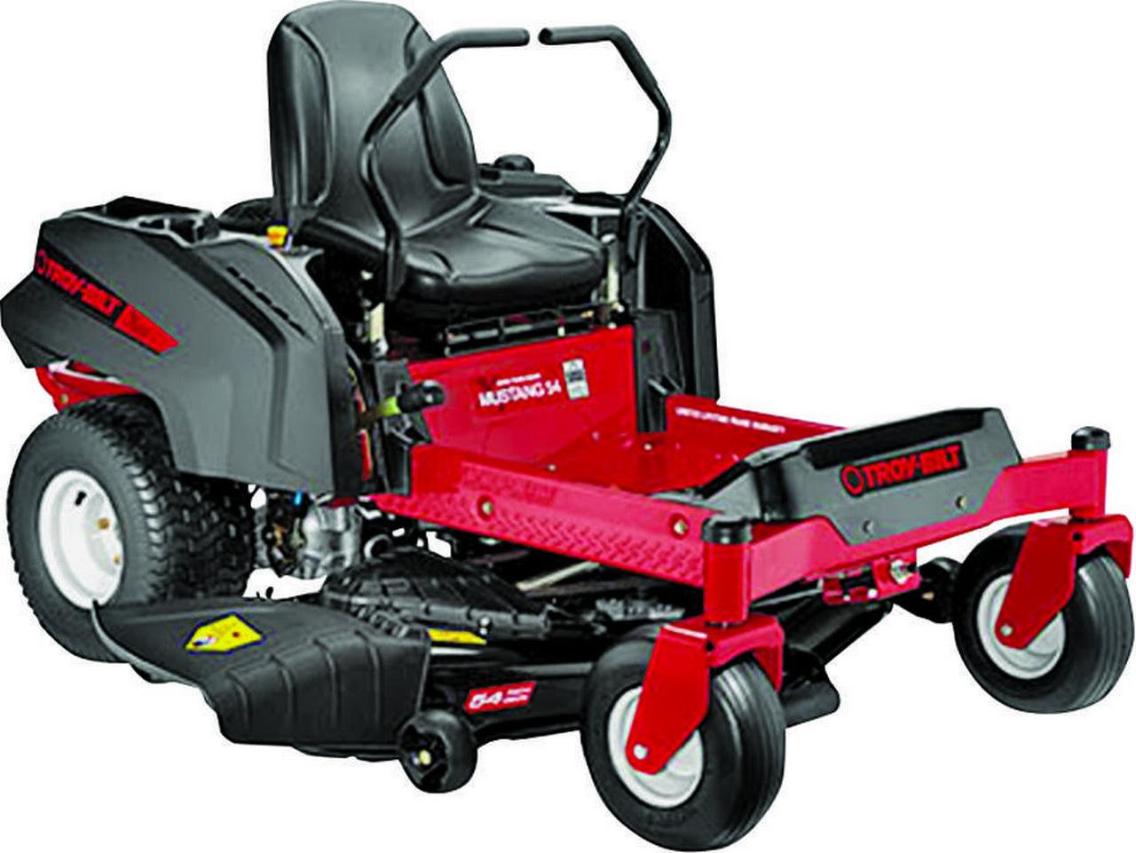 Troy-Bilt 17BDCACW066 Dual Hydro EZT Lawn Mower, 54 in W, 25 hp, 724 cc Briggs and Stratton, OVH Eng by MTD Products