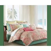 Echo Design Guinevere Comforter Set - Twin - Coral