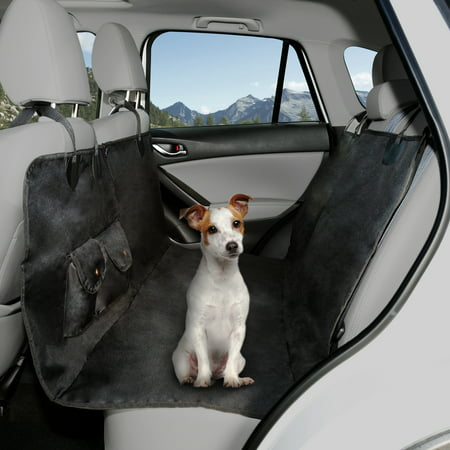 Dog Car Protector >> Pet Seat Cover Car Protector Bench Hammock Backseat Liner Waterproof Shield For All Weather With Non Slip Backing Mat For Car Truck Suv By Petmaker