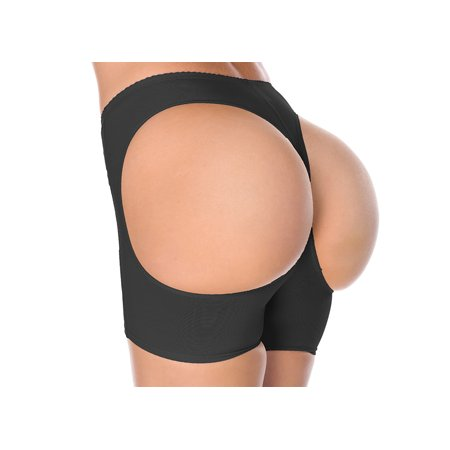 La Reve Body Shaper Femmes Butt Lifter amincissants | Petit Moyen Grand X-Grand | Nu noir