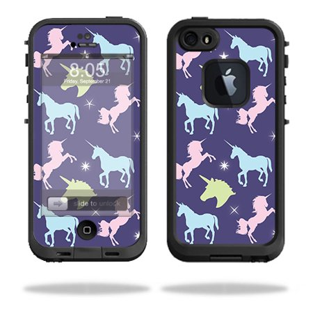 Skin For LifeProof iPhone 5 / 5S Fre Case – Unicorn Dream | MightySkins Protective, Durable, and Unique Vinyl Decal wrap cover | Easy To Apply, Remove, and Change Styles | Made in the USA - Halloween In 5s Online Office