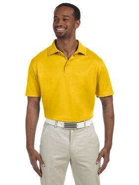 Branded Harriton Mens 4 oz Polytech Polo Shirt - GOLD - 3XL (Instant Saving 5% & more on min 2)
