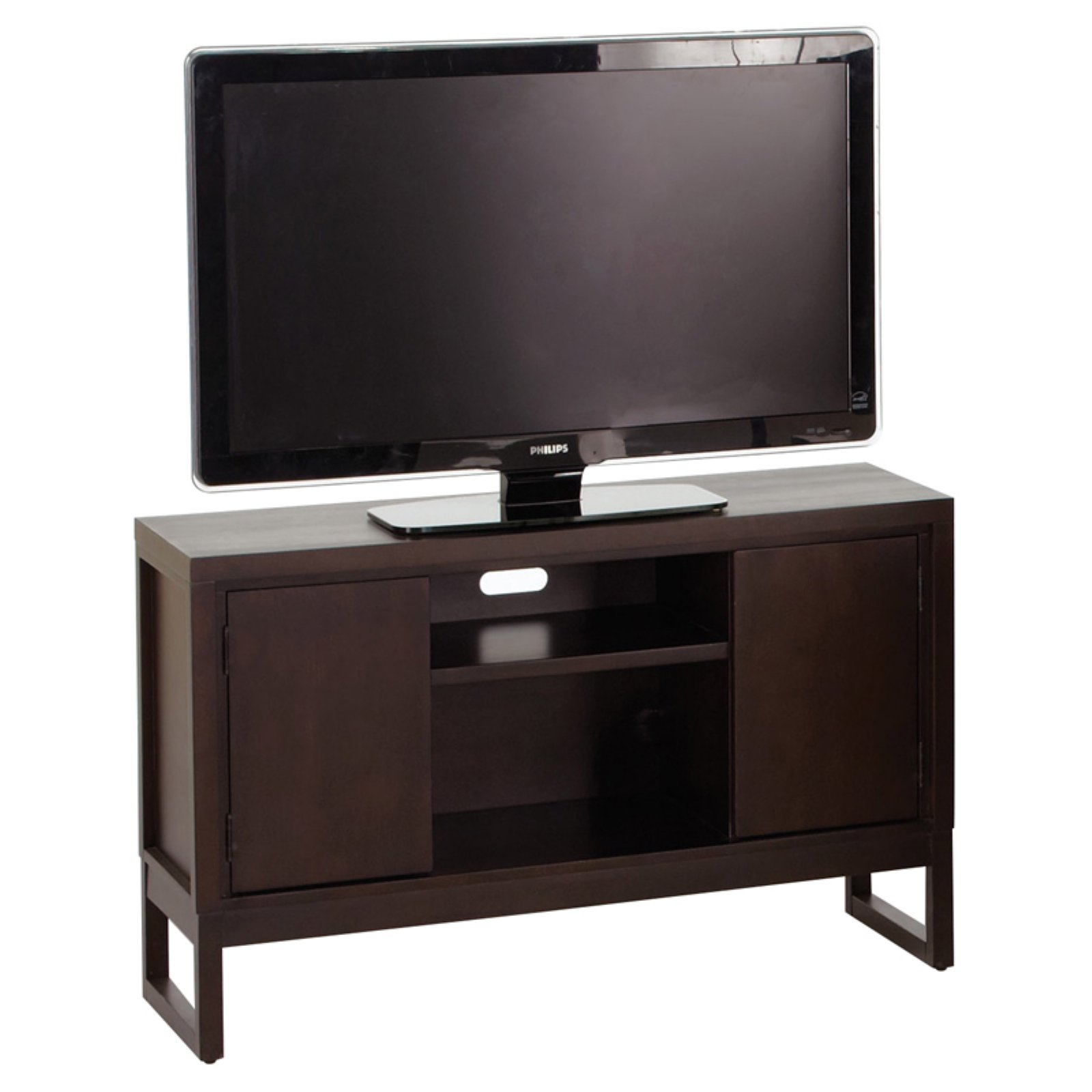 Progressive Furniture Athena TV Console - Dark Chocolate