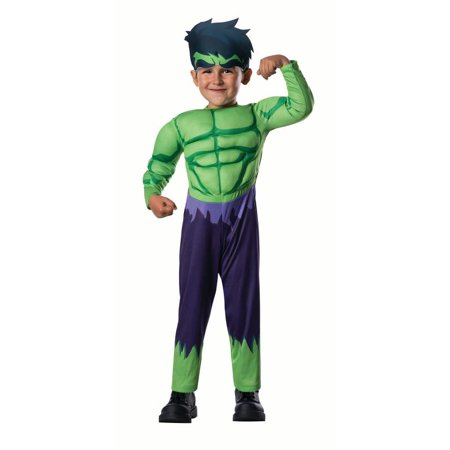 The Incredible Hulk Costume (Rubies Hulk Toddler Halloween)