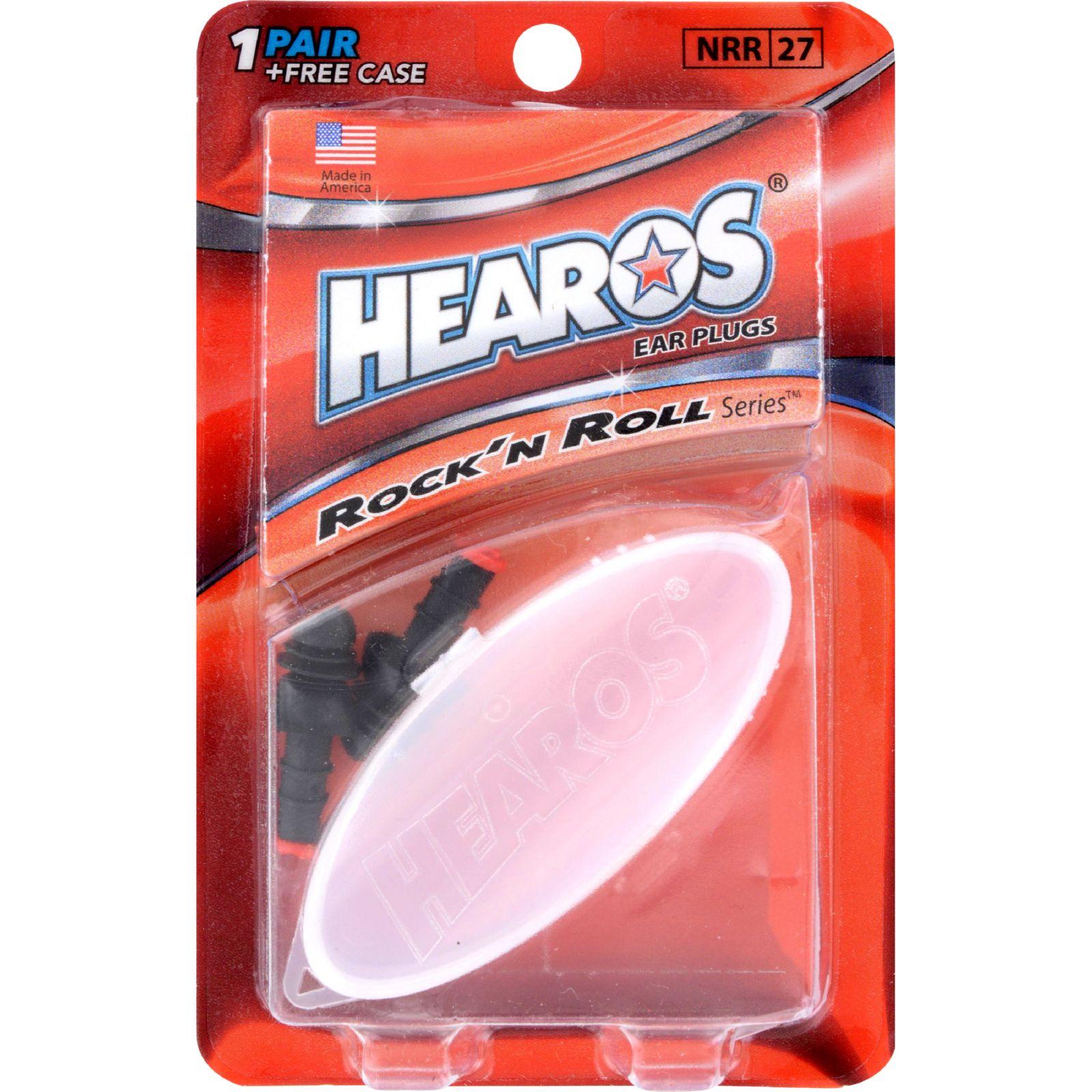 Hearos Ear Plugs Rock 'n Roll Series - 1 Pair
