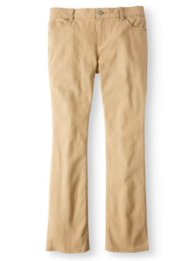 Wonder Nation Khaki Bootcut Jean (Little Girls and Big Girls)
