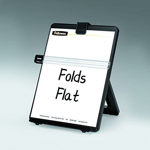 Fellowes Letter Sized Non-Magnetic Copyholder, Black (21106) by Fellowes