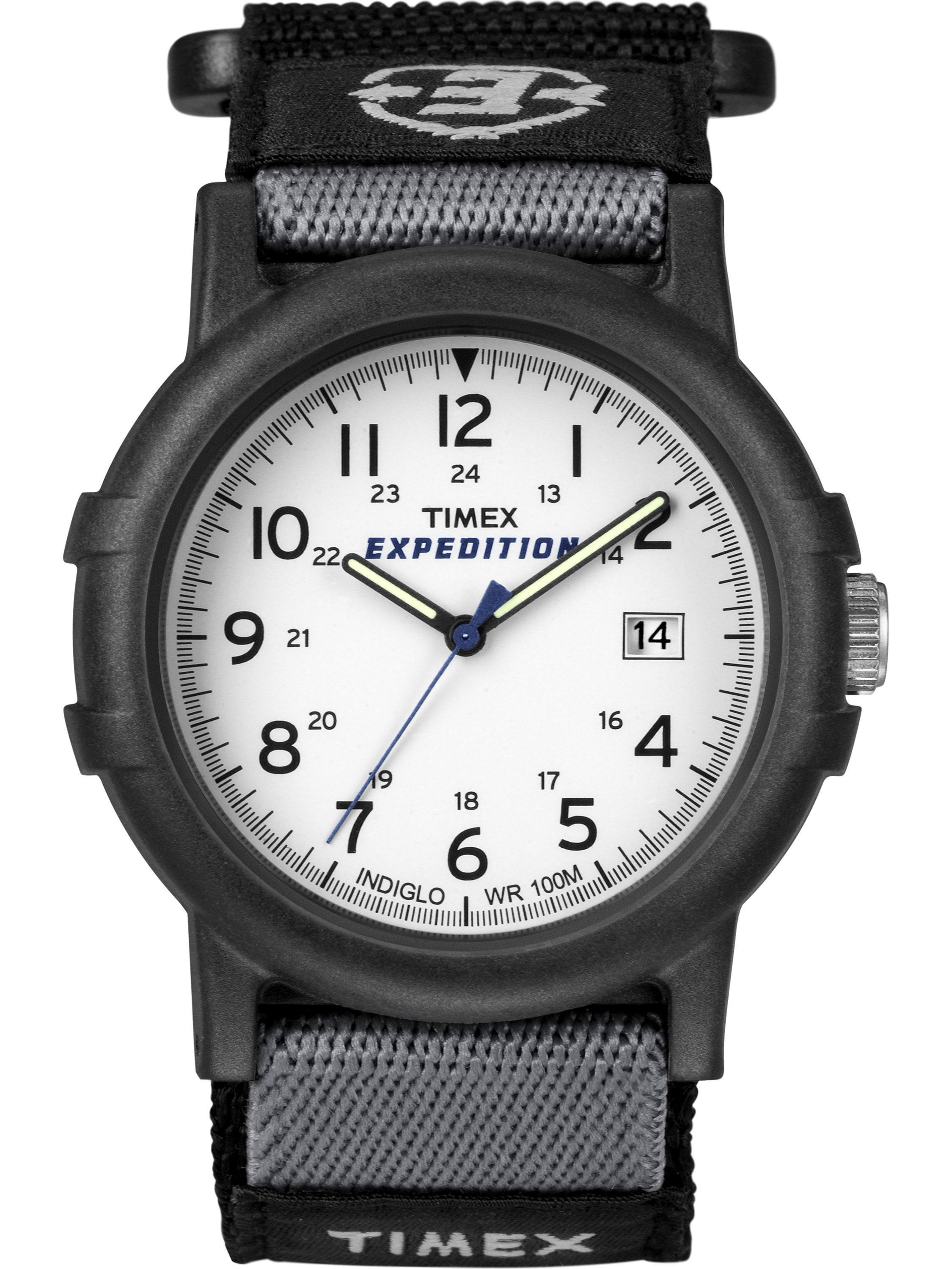 Timex Men's Expedition Camper Watch, Black Fast Wrap Strap