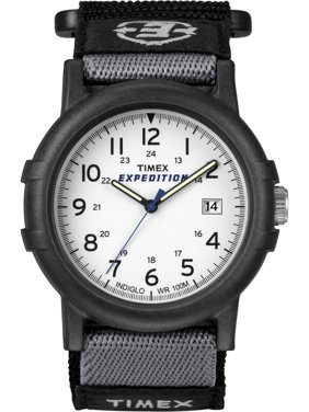 Men's Expedition Camper Watch, Black Fast Wrap Strap