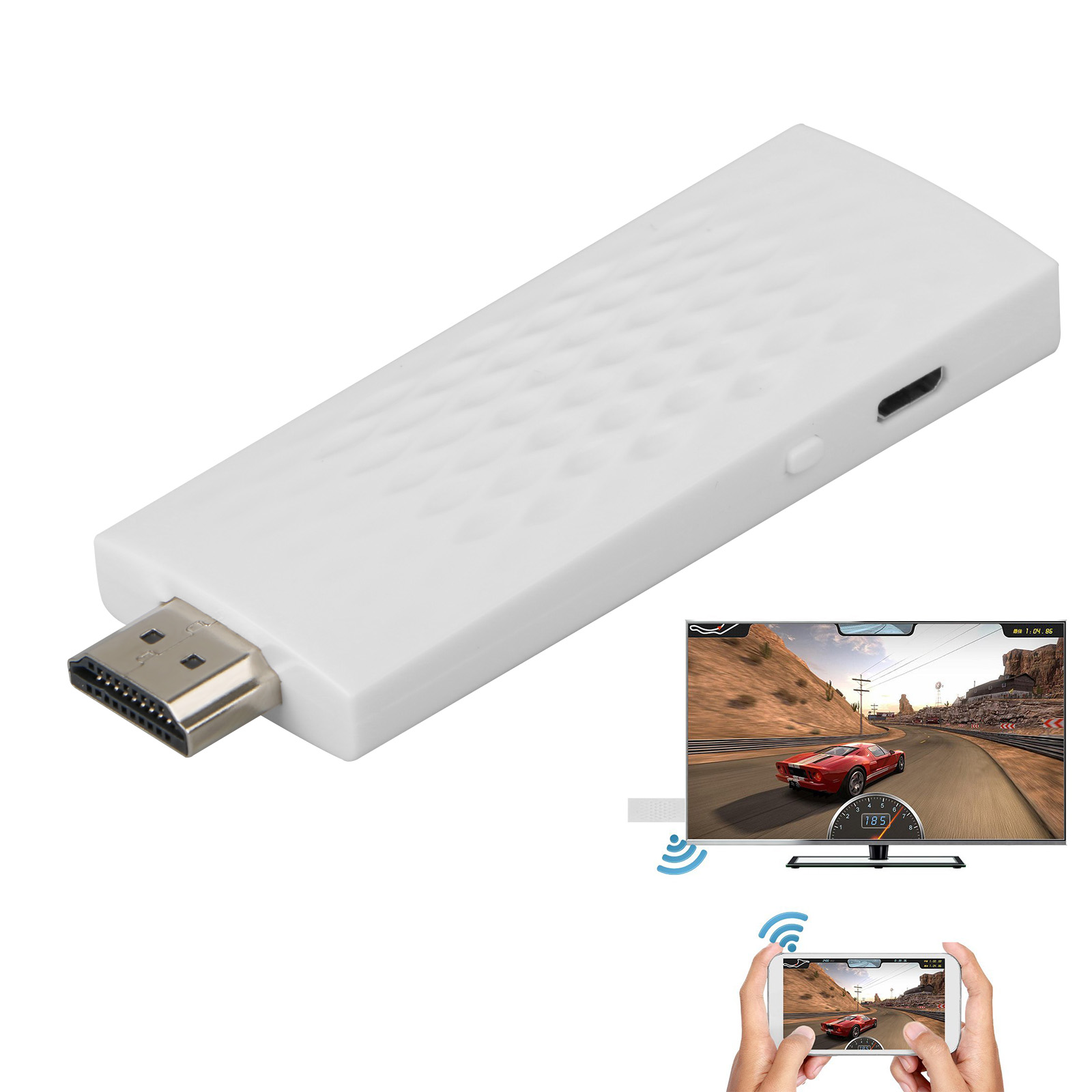 TSV Full HD 1080P Wireless Wifi Display Miracast DLNA Airplay Phone Screen to HDMI TV Dongle Adapter Mirror