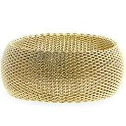 Monaco Gold Bangle Bracelet - BC00015G-V00