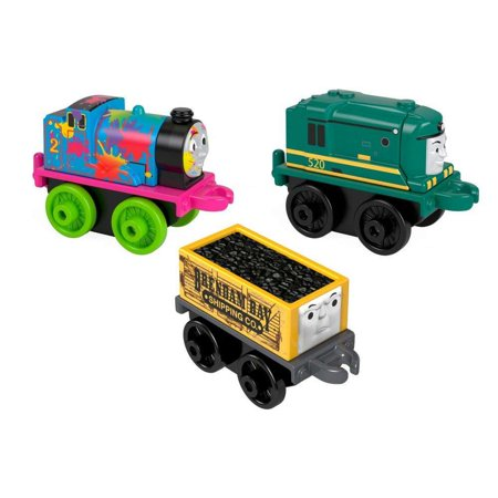 Fisher Price T&f Minis 3 Packs (Fisher Price Thomas And Friends Minis 7 Pack)