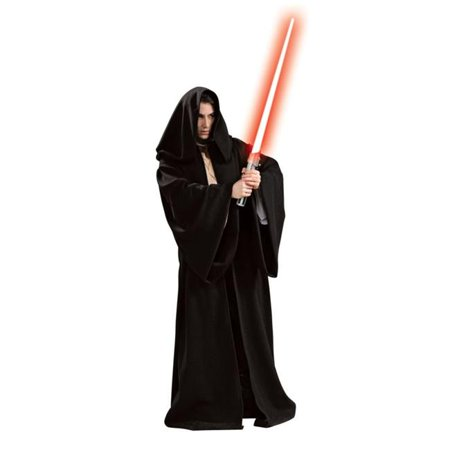Sith Robe Hooded Adult Deluxe - Sith Robes For Sale