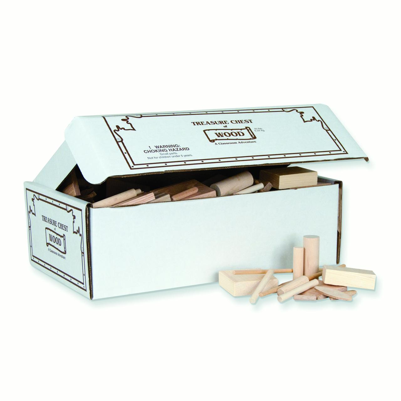 Pacon® Treasure Chest of Wood, 10lbs