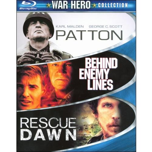 War Hero Collection: Patton / Behind Enemy Lines / Rescue Dawn (Blu-ray) (Widescreen)