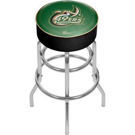 Tremendous Ncaa University Of North Carolina Charlotte 31 Padded Bar Stool Unemploymentrelief Wooden Chair Designs For Living Room Unemploymentrelieforg